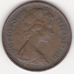 GREAT BRITAIN 1/2 PENNY 1978