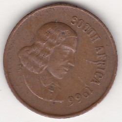 SOUTH AFRICA 1 CENT 1966