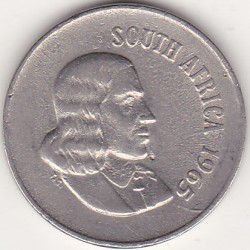 SOUTH AFRICA 10 CENTS 1965