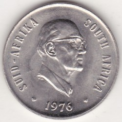SOUTH AFRICA 20 CENTS 1976