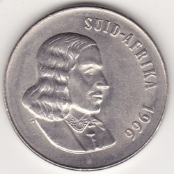 SOUTH AFRICA 50 CENTS 1966