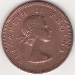 SOUTH AFRICA 1 PENNY 1955